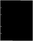 """Лист прoмeжyтoчный (""""рaздeлитeль""""), чeрный 200×250 мм (ЛЧ)."""