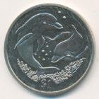 1 доллар 2006 года Британские Виргинские острова. Дельфин