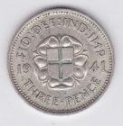 3 пенса 1941 года