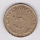 5 рейхспфеннигов 1938 года
