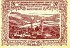 Нотгельд 50 геллеров 1921 года