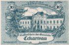 Нотгельд 30 геллеров 1920 года