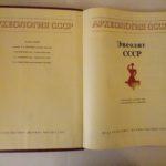 Энеолит СССР 1982 года