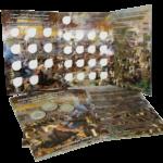 Альбом-планшет «Памятные монеты России, посвященные 200-летию победы в войне 1812 года»
