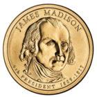 1 доллар 2007 США — James Madison (4-й президент)