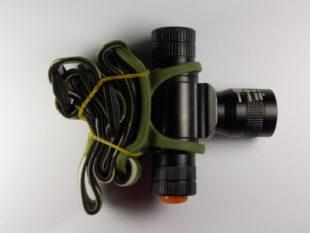 Налобный фонарик Мощная фара увеличение для ночного поиска