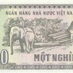 1000 донг 1988 года. Вьетнам.
