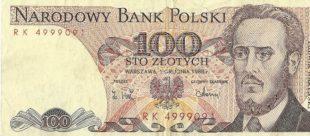 100 злотых Польша