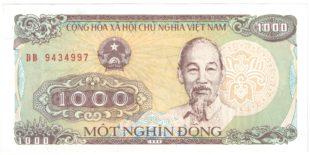 1000 дон . Вьетнам 1988 г.