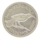 Новая Зеландия. 6 пенсов 1940 г.
