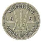 Австралия. 3 пенса 1951 г.