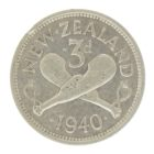 Новая Зеландия. 3 пенса 1940 г.