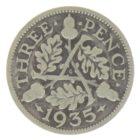 3 пенса 1935 г.