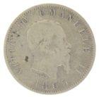 Италия. 1 лира 1863 г.