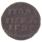 Полушка 1720 г. (1Г20 г.)
