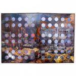 Альбом-книга для монет серии «Города воинской славы»