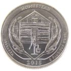 25 центов США 2015 г. «Национальный монумент Гомстед»