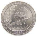 25 центов США 2015 г. «Национальные лес Kisatchie»