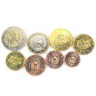 Набор монет Евро 2014 г. Латвия