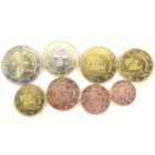 Набор монет Евро 2014 г. Кипр