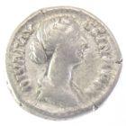 Денарий. Фаустина Младшая 125-175 гг Н.Э. «concecratio»