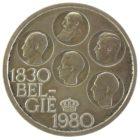 Бельгия. 500 франков 1980 г. «150 лет независимости Бельгии»