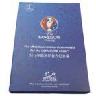Официальный набор из 8 памятных медалей «Euro 2016»