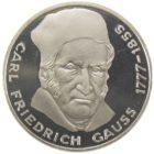 5 марок 1977 г. «200 лет со дня рождения Карла Фридриха Гаусса»
