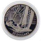 Кирибати. 20 долларов 1992 г. «Парусный Спорт»