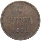 1 пенни 1912 г.