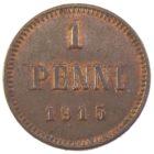 1 пенни 1915 г.