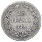 25 пенни 1889 г. L