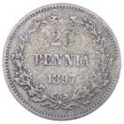 25 пенни 1897 г. L