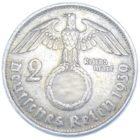 2 рейхсмарки 1939 г. B
