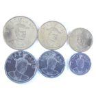 Свазиленд. Набор монет 2015 г. (6 шт.)