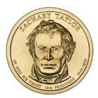 1 доллар 2009 США — Zachary Taylor (12-й президент)