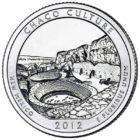 25 центов США Национальный исторический парк Чако Нью-Мексико