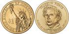 1 доллар 2010 США — Franklin Pierce (14-й президент)