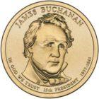 1 доллар 2010 США — James Buchanan (15-й президент)
