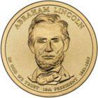 1 доллар 2010 США — Abraham Lincoln (16-й президент)