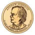1 доллар 2011 США — Andrew Johnson (17-й президент)