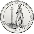 25 центов США Международный мемориал мира Огайо