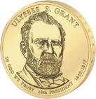 1 доллар 2011 США — Ulysses S. Grant (18-й президент)