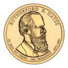 1 доллар 2011 США — Rutherford B. Hayes (19-й президент)