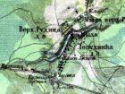 Карта Санкт-Петербургской губернии Шуберта