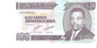 100 Cent francs — Amafranga Ijana
