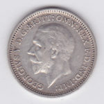 3 пенса 1935 года
