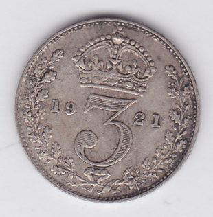 3 пенса 1921 года