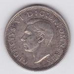 6 пенсов 1945 года