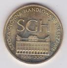 2 злотых 2006 года 100-летие Варшавской школы экономики
